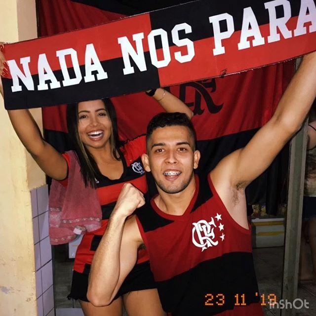 Quero cantar ao mundo inteiro, a alegria de ser Rubro-Negro... AQUI É CAMPEÃO DA LIBERTADORES!!! ❤️🖤 #flamengo #libertadores #libertadores2019