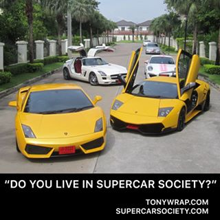 TONY WRAP SUPERCAR SOCIETY