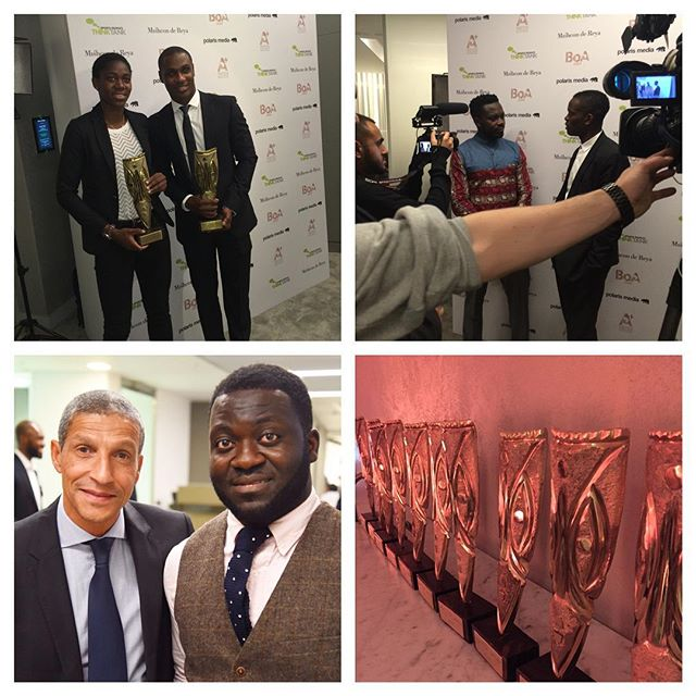 The #AFSTV cameras were present at the #BestofAfrica awards 2015 in London. We spoke to some of the biggest names in African football. Report coming up soon at www.africafootballshop.com #AfricaFootballShop #Africa #LouisSaha #OdionIghalo #ChrisHughton #PapaAgyemang #BOA20XV