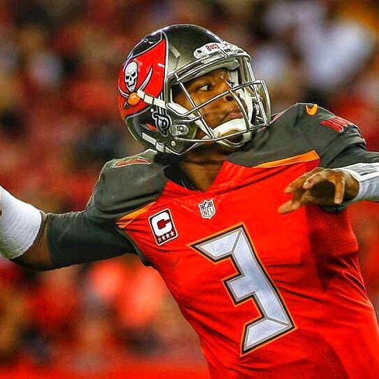 Jameis Winston's current ADP is QB #15 🤷🏻‍♂️ Don't sleep 😴 on Winston!  #Buccaneers offensive #fantasyfootball rankings: Mike Evans WR #9 Chris Godwin WR #21 OJ Howard TE #4 🔥🔥🔥 Who is going to distribute the ball to these projected fantasy assets?  #fantasyfootball #nfl #nfcsouth #nflstats #sportsbetting #nflbetting
