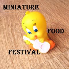 Miniature food festival