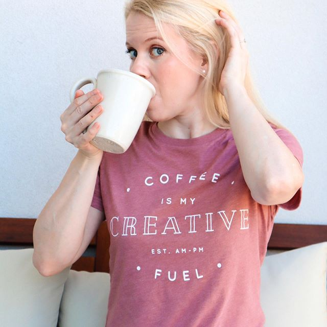 Tuesday after a holiday weekend calls for all the coffee. ☕️ - I've been loving this @threadtank tee and have been wearing it nonstop since I got it! It's made of the most buttery soft cotton and fits perfectly - not too roomy and not too snug. I'm very picky about how my tees fit, and I was delighted to find it was just right when I first tried it on. The only downside is I think the fiancé may be getting a tad bored with my wardrobe choice. 🤷🏼♀️ - You can get 10 percent off your entire purchase with code SKIRTS10 through the end of September! Seriously, y'all, these shirts are everything! And I'm not just saying that because they were gifted to me. They really are that good. I've linked them in my stories. Now go check them out!