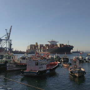 Barcos en Valparaíso
