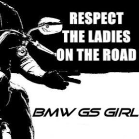 Henny BMW GS Girl