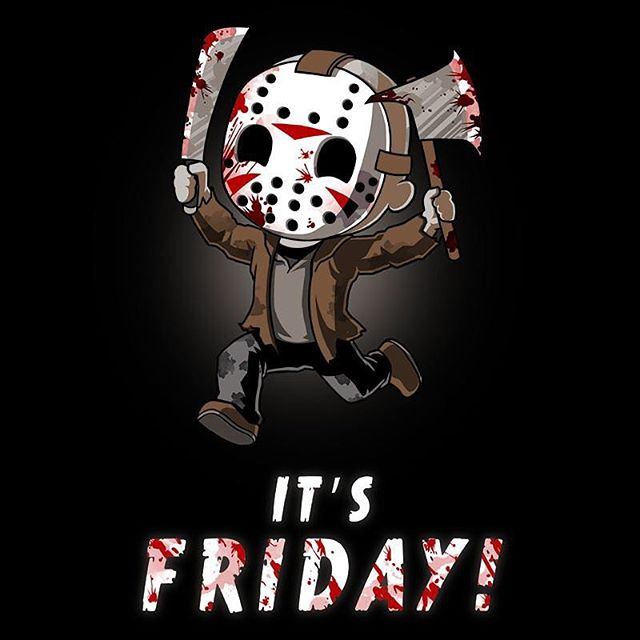 Have a good Friday 13th #fridaythe13th #bandwagon #paraskevidekatriaphobia #jasonvoorhees #itsfriday #weekend