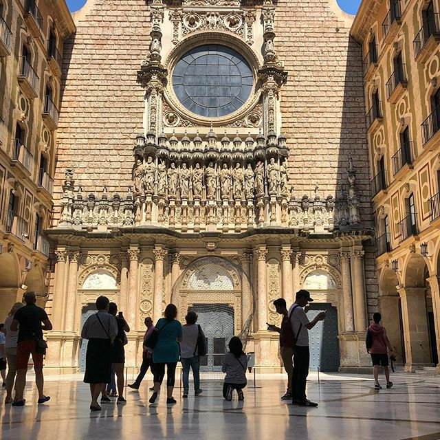 Montserrat, Catalunya Spain July 2019 the beautiful monastery is worth the climb or train plus cable car trip #monastery #montserrat #catalunya #travelwithme #traveltheworld #travelmore #welltravelled #traveldeeper #sunlight #shadowhunters #huntgram #seetheworld #aroundtheworld #travelblogger #beautifuldestinations #travelphotographer #welltravelled #travelblog #ig_travel #stayandwander #traveldiaries #neverstopexploring #photooftheday #instagood #traveler #travelmood #ig_europe #visitspain #burnmyeye #visualscollective