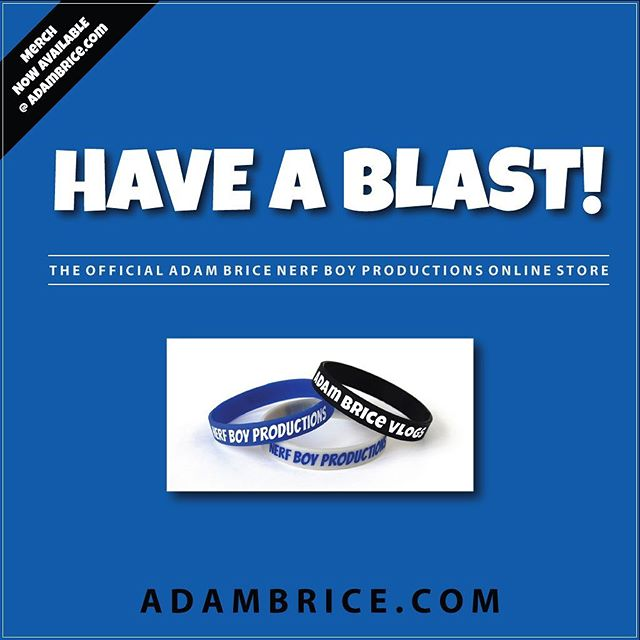 for everyone who has been pleasantly waiting, I'm finally proud to announce that the Official Merch is now available at adambrice.com Feel free to head on over and check out all that is available :)