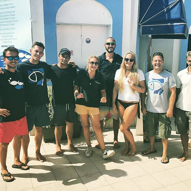 Thanks everyone for this funny 2 months of intership ! #watercolourdivecenter #mabiche #libefoche