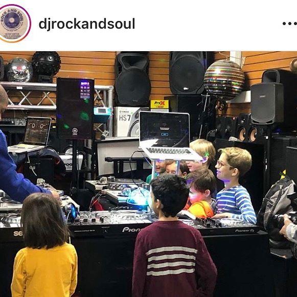 @djrockandsoul DJ CLASSES FOR CHILDREN STARTS TOMORROW. FOR MORE INFO HIT UP ROCK AND SOUL AT info@rockandsoul.com OR CALL (212)695-3953