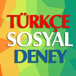 Türkçe Sosyal Deney