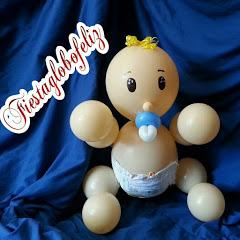 fiestaglobofeliz -figuras y decoraciones con globos