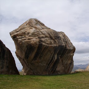 the boulder and the pebbles