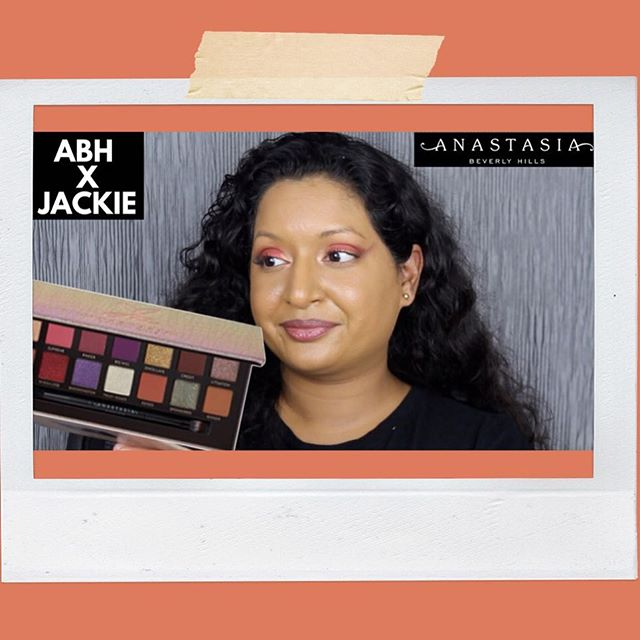 Have you watched my review and swatches on the @anastasiabeverlyhills x @jackieaina palette? Link in bio (https://m.youtube.com/watch?v=bUm0rtyQwSU) . . . . . . . #jackieaina #jackieainapalette #abhxjackieaina #anastasiabeverlyhills #abh #abhfoundation #jackiexabh #abhpalette @norvina #jackiejackie #jackiejackiejackiejackie #jackieainaxanastasiabeverlyhills