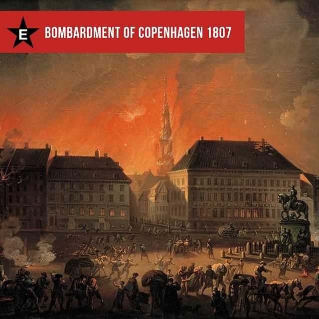 #OnThisDay 1807 British warships bombarded the Danish capital Copenhagen. Denmark had remained neutral in the Napoleonic Wars, but was under pressure from Napoleon and his ally Russia to hand over its fleet. Britain chose to eliminate this potential threat with a pre-emptive strike, successfully capturing or destroying almost the entire Danish fleet. ⁠ ⁠ #NapoleonicWars #NapoleonBonaparte #MilitaryHistory #History #DanishHistory