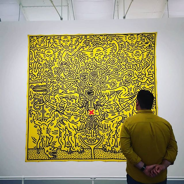'Art should be something that liberates your soul, provokes the imagination and encourages people to go further' - Keith Haring  Birthday well spent at @tateliverpool #keithharing #liverpool #tate