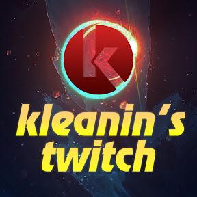 kleanin's twitch