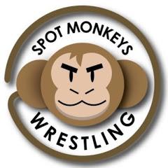 Spot Monkeys Wrestling