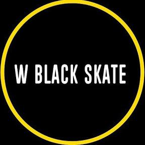 W Black Skateboard