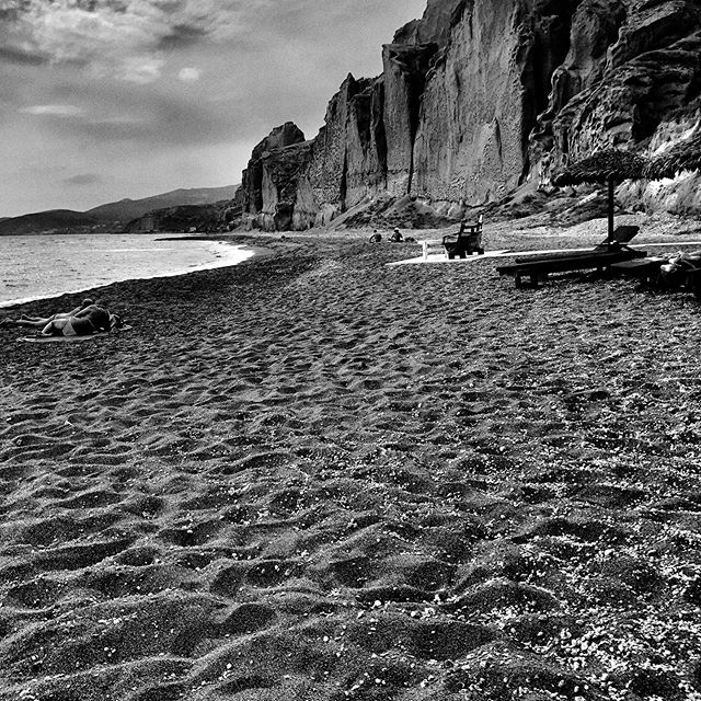 Eros Beach #santorini