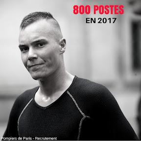 Pompiers de Paris Recrutement
