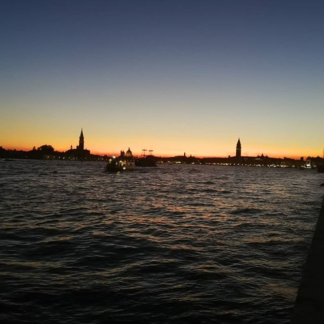Now that's a sunset #Venice
