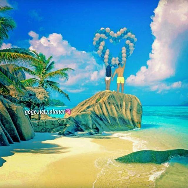 💙🌊💙🌊💙🌊💙 #bluemagic #exoticbeauty #paradise🌴 #balloons🎈#fitcouplegoals #couplegoal #reklama #summervibe #paradiseonearth #lovelymoments #amazingcolors #traveling_world