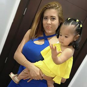 Mamá y princesa Kim