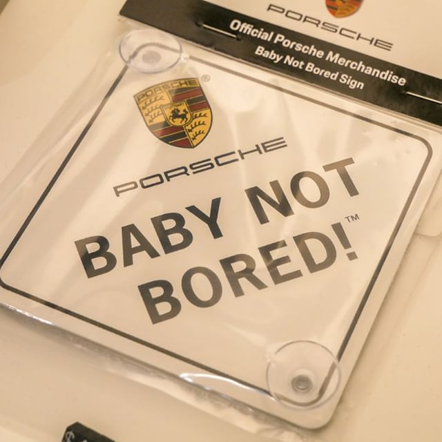 No one not even the Baby can be bored in a Porsche from Porsche West Palm Beach! Don't believe us? Come in for a test drive and see it for yourself😍