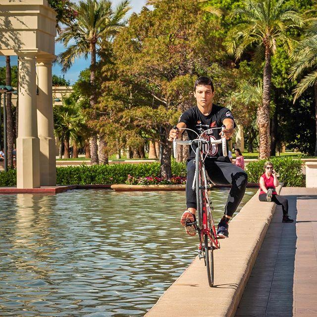 Im Stadtpark von València 🇪🇸🏝😎 #peoplephotography #bikers #streetphotography #spain #valencia #citypark #palmtreelove #summervibes #travelphotography #photoshoprobert #ilovespain