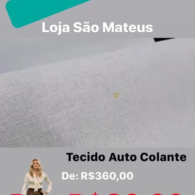 🚨TECIDO AUTO COLANTE 🚨 . ✅ De: R$360,00 . ✅ 🚨Por: R$89,99 😱 . ✅ Fácil aplicação, já vem cola #façavocêmesmo . ✅ Indicado para paredes, móveis, adere em azulejo . ✅ 68cm x 6mts (vem 4mts2) . ✅ Varias cores e modelos . . 🚨 Exclusivo na nossa loja de São Mateus  Rua: Tita Ruffo 1046 (próximo a loja Besni e Lojas Marisa da Av Mateus Bei) . Tudo a pronta entrega!!! . Mais corre se não acaba 🤷🏼♀️ . Loucura assim ☝🏼☝🏼é só aqui 👇🏼👇🏼 . . 🏃🏼♀️🏃🏼♀️🏃🏼♀️🏃🏼♀️para a @estrelapapeisde. . Variedades, qualidade e preço lá em baixo é aqui!!! . . #vemquetem #promoção #outlet #modernismo #moderninha #desconto #parcela . . 4 lojas esperando por você👇🏻👇🏻👇🏻👇🏻 . • Loja 1: R. Serra de Botucatu, 1341 - Tatuapé - São Paulo - SP, 03317-001 Tel: (11)3257-8605 ou (11)95340-2862 . • Loja 2: Av. Professor Luiz Ignácio Anhaia Mello, 1859 - Vila Prudente, São Paulo - SP, 03155-000 Tel: (11)3159-4470 ou (11)94736-7623 . • Loja 3: R. Santo André, 418 - Centro, Santo André - SP, 09020-230 Tel: (11)4852-0459 ou (11)94089-1038 . • Loja 4: R. Tita Ruffo, 1046 - Cidade São Mateus, São Paulo - SP, 03965-000 Tel: (11)2962-6999 ou (11)94011-9483 . . #papeldeparede #decor #papeldeparedeimportado #lojadepapeldeparede #papeldeparedetexturizado #papeldeparedeinfantil #designdeinteriores #instagram #instahome #3d #interiores #decor #dicasdedecoracao #saomateus #sapopemba #uninovevilaprudente #maua #moocaémooca #tatuape #tatuape_tem #santoandre #itaquera #saomiguel