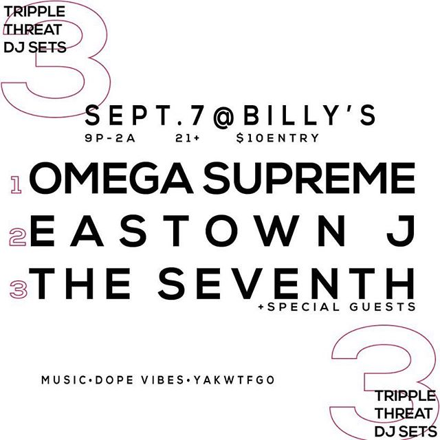 This Saturday catch me on brick St 🧱 @billysloungeeastown wit the fam @eastownj @theseventh_ago and @mikegmgp w/ Special pop up by @jurleycames