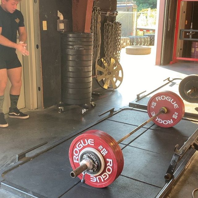 Deadlift PR Successes and failures New PR - 529lbs  PR attempt fail @ 551lbs Wide grip pull-ups 3 x 10  Failures are just opportunities for growth