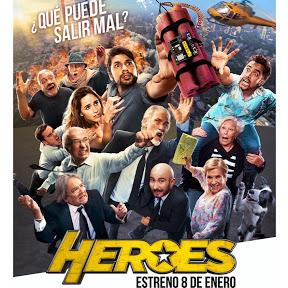 Héroes la película