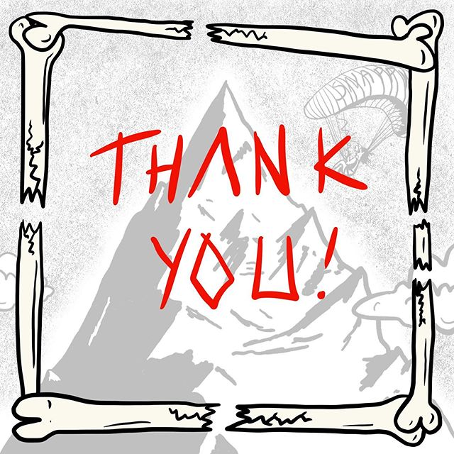 Thank you so much to you all!!! Thanks to everyone who bought something in the run up to the shop closing, shared something, likes something, sent me a message, submitted to the zine, sent me a message and generally was a part of this collective. Broken Bones Collective would be nothing without you guys. It has been amazing to see how this took off, you never know how an idea is going to work but I hope that you guys got something out of it, be that discovering a new artists, someone discovering you, a sense of community or a shiner new Zine. I am unsure yet if I will be able to reopen Broken Bones Collective. It has been a struggle keeping it going as well as a full time job and my personal work (@livyhasnolife) but I have LOVED doing it. I'm not really sure what else to say other than wishing you guys the best and hope IG that I will be able@to make time in the future to return! Stay following and maybe just maybe you'll see another rad piece of artwork pop up on your feeds. Adios, it's been sick. 🤙 . . . #brokenbones #thankyou #brokenbonescollective #creativecollective #collective #diy #independent #adrenaline #adrenalinesport #art #illustration #broken #bones #fightorflight #creativeclub #adrenalinezone #sport