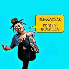 Menggambar produk Indonesia