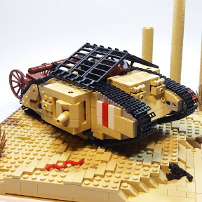 World of Lego Arms- LEGO  tanks
