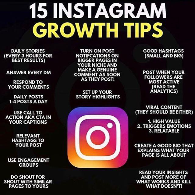 """Instagram tips from the """"Instagram guy""""👍"""