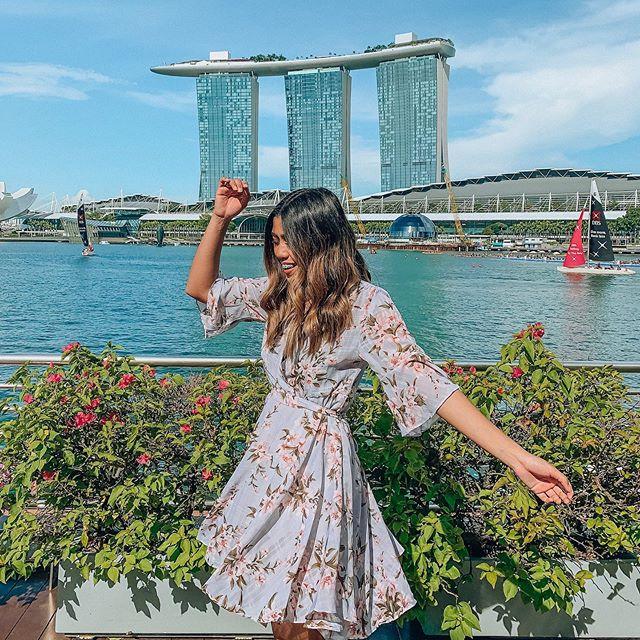 I love a good twirl 💞 @chicwish #singapore