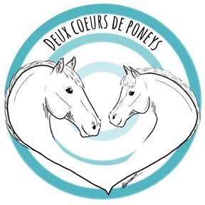 Deux cœurs de poneys