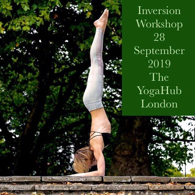 I only have a few spots left for the workshop @londonyogahub on Saturday 28 September.  We will spend a lot of time 🙃🤸🏼♀️🤸🏻♂️ and finish with Yoga Nidra 🧘🏼♀️🥰🧘🏼♂️ . . Don't hesitate to get in touch to book! . . 💚💚💚