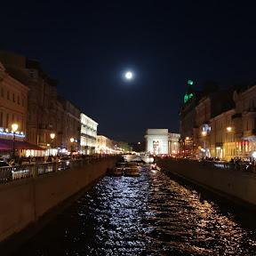 Saint-Pétersbourg Russie en français