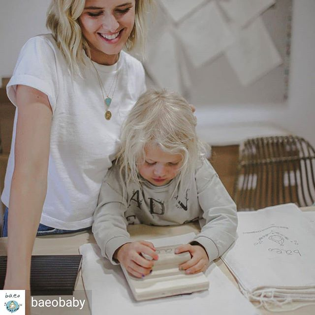 Reposted from @baeobaby (@get_regrann) -  Putting this lil dude to work. #momowned #bareessentialorganics  #organicskincare