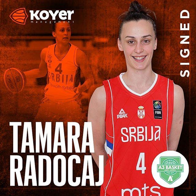 Another #EuroCupWomen season for @tamararadocaj ...this time it will be @a3basketumea 🇸🇪 #koyersport🔥