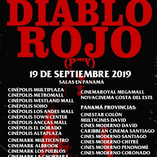 Cines en todo Panamá, dónde estará disponible @diablorojolapelicula  @isagorath #creative #draftman #painter #muralpainter #sculptor #photographer #graphicdesigner #props #fxmakeup #films #musician #bassist #bass  #realisticart #surrealart #darkart #blackmetal #horrorart #metalhead #isagorath
