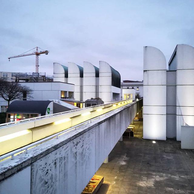 Das Bauhaus-Archiv. #bauhaus #berlin #germany #architecture #architect #gropius #bridge