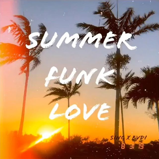Summer Funk Love out now! Link in Bio. Hyped to finally share this collab with my brother @somebadi and my sister @adeline on bass. Produced by yours truly. Play it loud and enjoy your weekend! #newmusic #summervibes