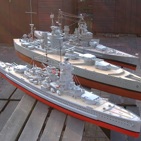 RC Model Warships