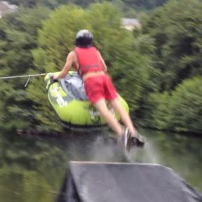 Trocha15 - Slip N slide, ski and fishing
