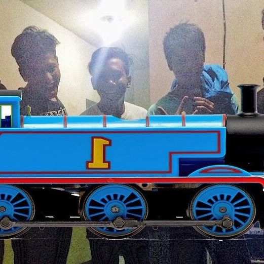 Ra usah tanyak iku stiker jenenge Thomas The Tank Engine. Google akeh lurrr... #like4like #likeforlike #instadaily #instagood #daily #instapic