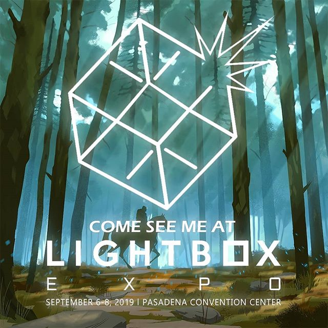 "Hey guys! @lightboxexpo is finally here! I'll be at table 721 all weekend selling prints and my books. I will be giving away free 5""x7"" prints with all purchases while supplies last! And If you are one of my patrons, come by anytime and get one free!  I'll also be doing a demo Saturday afternoon. See attached for details! Come by and say hello! I'd love to see you! . . . #lightboxexpo #Pasadena #Cali #tycarterart #Wasatch #books #freestuff #design #artistsoninstagram #instagood #artists #illo #comesayhi"